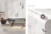 Carrara Polish/Matt Porcelain tile 600x1200mm