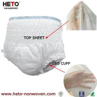 PP nonwoven fabric hygiene non-woven for sanitary napkin