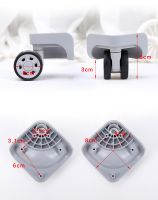 50mm Luggage universal wheels parts accessories