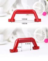 Durable colorful luggage plastic handle accessories