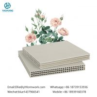 Light Weight PP Hollow Plastic Formwork Reuse More Than 80 times