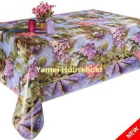 Printing Tablecloth with flannel backing