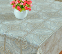 100% Vinyl lace tablecloth series