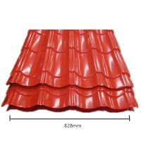 Made in China steel roofing sheet roof tile metal iron roof top