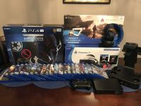 25 Games - 5tb PS4 Pro Star Wars Edition - Playstation VR Headset - PSVR - MORE