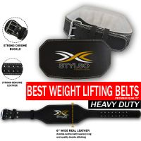 Stylso Weight lifting Leather Belts
