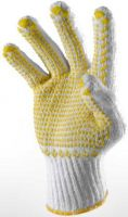 Safety Bleach/White Glove with Dots 8-9inch Cheap