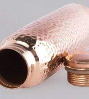 Copper Bottles Hammered 1 Liter for Drinking Water