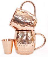 Copper Barrel Mug 16 oz