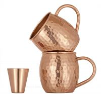 Copper Barrel Mug 16 oz