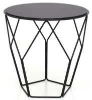 Accent Table with marble top