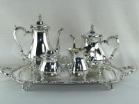 Brass Teapot Nickel Plated