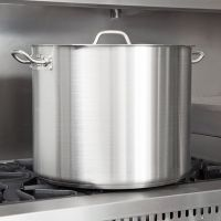 Stainless Steel Utensils & Cookware > Stainless Steel Cooking Pots, Aluminium cooking pots