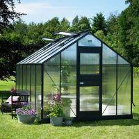 Modern prefab glass winter garden sun house outdoor garden room