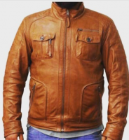 Top quality Winter Leather Jacket