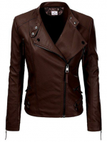 Top Leather Jackets and Long Coats for Ladies