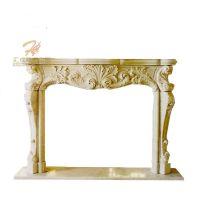 New Luxury Wholesale Marble Decorative Fireplace Mantle