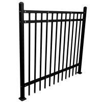 Steel Fence Poles / Garden Iron Gate / Backyard Fence