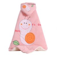 Spring And Winter Newborn Baby Quilt Combed Color Cotton Baby Sleeping Bag