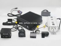 2.4G wireless camera with HDD mobile DVR
