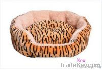 classic pet bed in pink camouflage