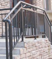 Residential Simple Design Metal Stair Handrail Fence