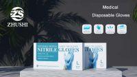 Disposable Medical Examination Nitrile Gloves