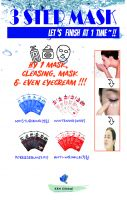 whitening 3 step ampoule mask
