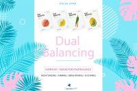 Daul balance mask (Firming / PEACH, WATERMELON)