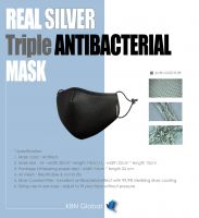 PREMIUM SILVER COATING MASK (99.9% REAL SILVER-COATED FILTER)