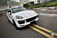 KM for Cayenne 958 upgrade pp material GTS Turbofront bumper body kit rear bumper 2015-up factory outlet
