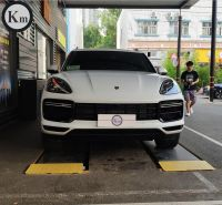 KM factory outlet for Cayenne 9Y0 9YA Turbo-style full bodykit bumper facelift