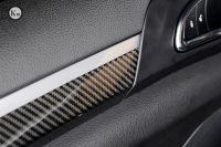 KM For Cayenne 958 carbon fiber interior dashboard panel trims paste type
