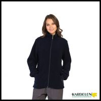Work Wear Coat With Front Zipper