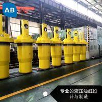 Heavy duty hydraulic cylinder penumatic cylinder piston rod
