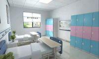 hospital plastivc locker