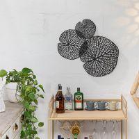 Metal Lotus Leaf Wall Art