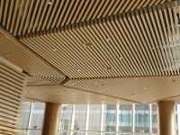 styling designer aluminium square tube ceiling