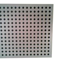 GI round regular punching steel plate