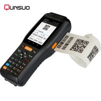 Hand held NFC POS terminal android with 3G thermal printer and barcode scanner