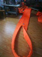 60T polyester woven eye&eye  flat webbing sling  5T  EN1492-1  CE, GS