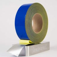 PTFE Coated Metal Detectable Tape Blue Tefsil 3