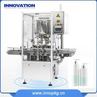 PLC control body lotion making and filling machine