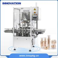 Automatic lotion filling machine for cosmetic business