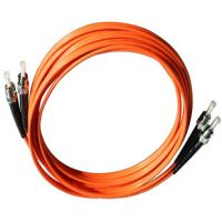 Fiber Optic Patch Cord ST-ST Multimode OM1 OM2 Simplex or Duplex