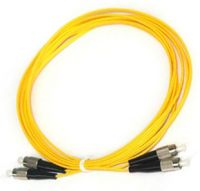 Fiber Optic Patch Cord FC-FC SM Simplex or Duplex