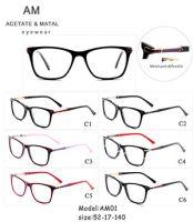 Acetate Metal Eyeglasses Frame AM01