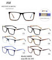 Metal Acetate Eyeglasses Frames AM08