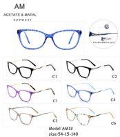 Metal Acetate Eyeglasses Frames AM12