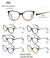Metal Acetate Eyeglasses Frames AM06